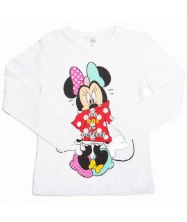 Реглан детский для девочки Disney Arditex WD11636 белый