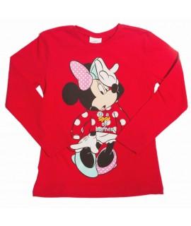 Реглан детский для девочки Минни Маус Disney Arditex WD11636 красный