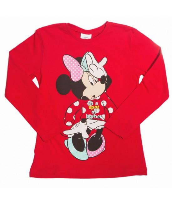 Реглан детский Минни Маус Disney Arditex WD11636 красный