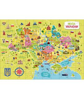 Пазлы DoDo Карта Украины 300109