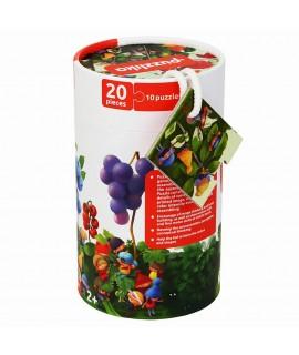 Пазлы Гномы и ягоды Puzzlika 13548