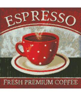 Алмазная вышивка Премиум кофе Идейка AM6021