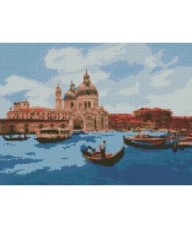 Алмазная вышивка Полдень в Венеции Идейка AM6134