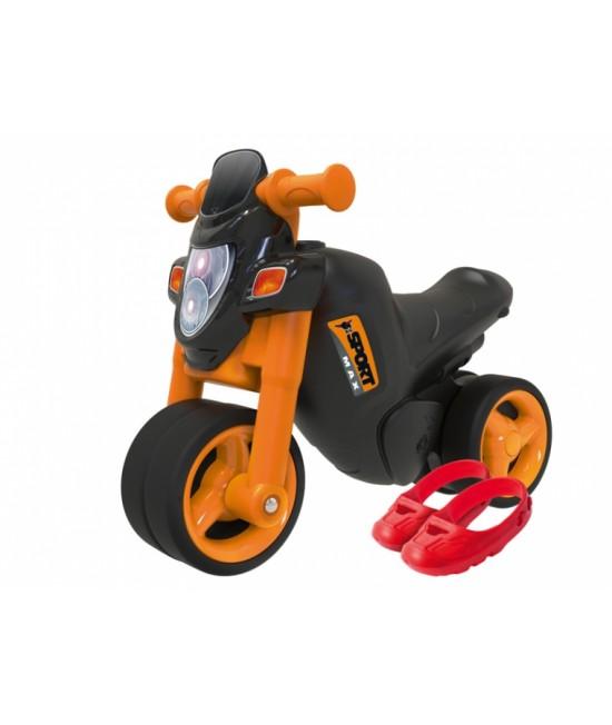 Беговел Мотоцикл Big Sport Bike 56361 с защитой для обуви