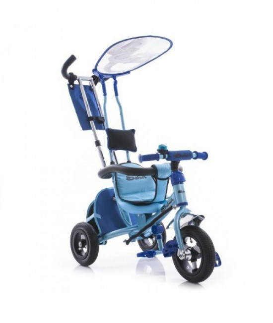Трехколесный велосипед Azimut An Air Safari синий слон