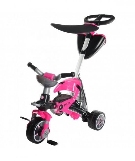 Трехколесный велосипед Injusa Bios 3282 розовый